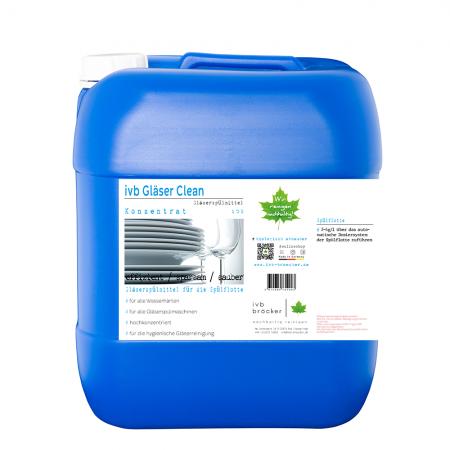 ivb Gläser Clean Gläserspülmittel Konzentrat für die Spülflotte alle Wasserhärten