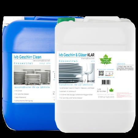 ivb Geschirr Clean Klarspüler Angebot Paket Ersparnis