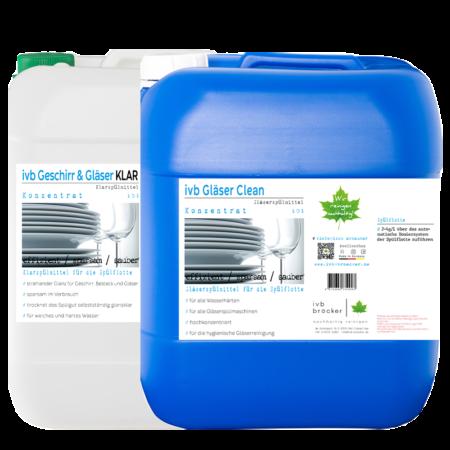 ivb Gläser Clean Klarspüler Angebot Paket Ersparnis